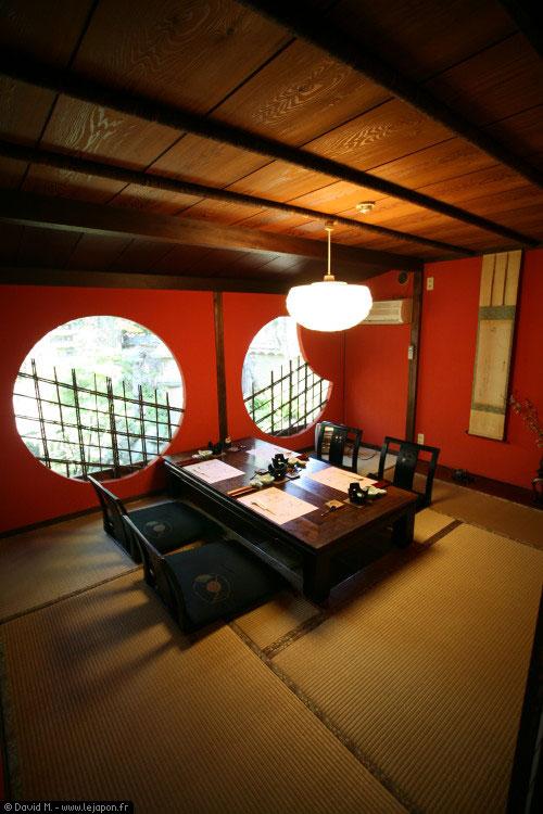 goyashiki ou l 39 art de manger dans un cadre magique le. Black Bedroom Furniture Sets. Home Design Ideas