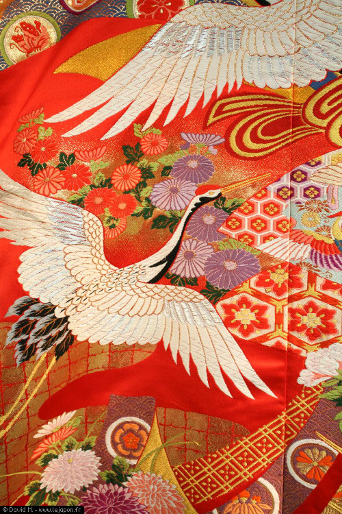 Kimono de mariage japonais