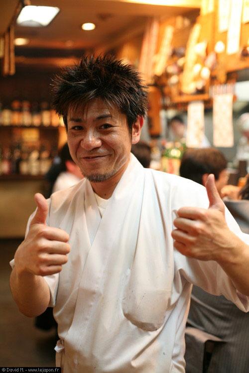 Hideki san, the Izakaya Master !