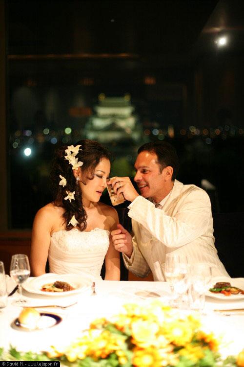 Mariage au Japon soirée style occidental