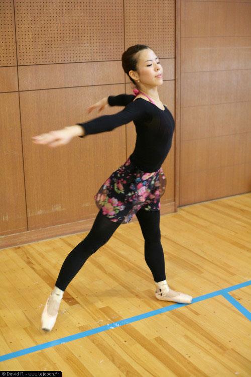 Danseuse étoile japonaise Saito Mariko