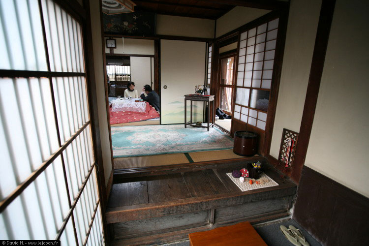Le japon vu de l 39 int rieur d 39 une maison japonaise le for Interieur ultra design