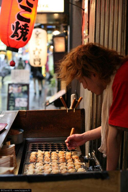 Tako Yaki Master Shinjuku Tokyo