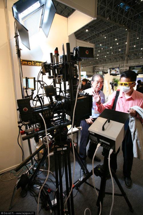 Caméra 3D à base de RED one avec système d'Alain Derobe de chez 3DStereoRig