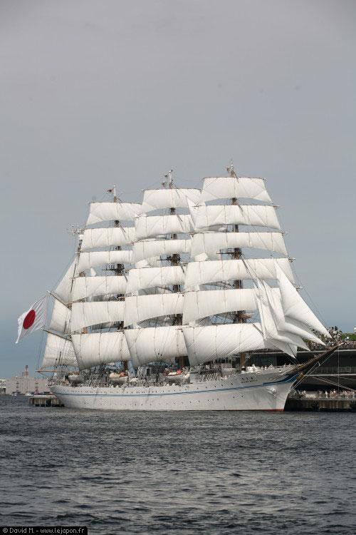 Kaiwo Maru à Yokohama