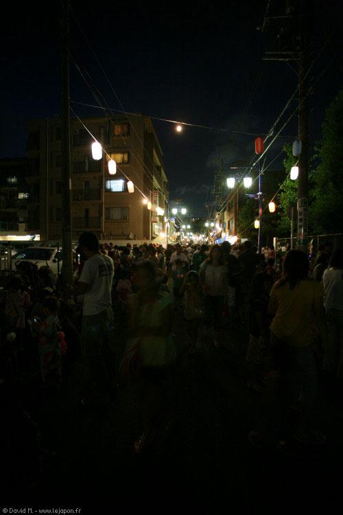 Petit Matsuri, fête de quartier au Japon