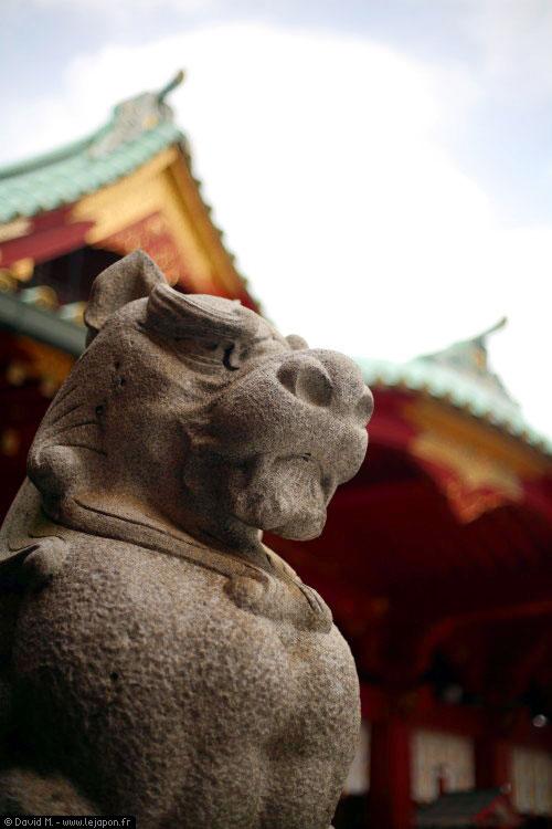 Un gardien du sanctuaire Kandamyoujin