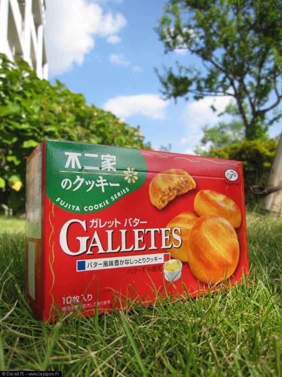 Galettes bretonnes japonaises de Fujiya