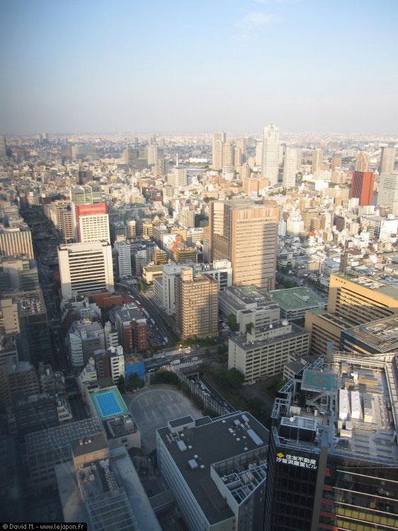 Tokyo vu du ciel
