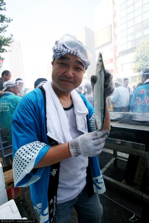 Sanma Matsuri Meguro Tokyo