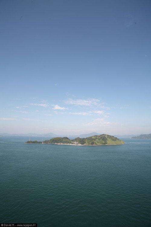 Vue du pont Kurushima-Kaikyō