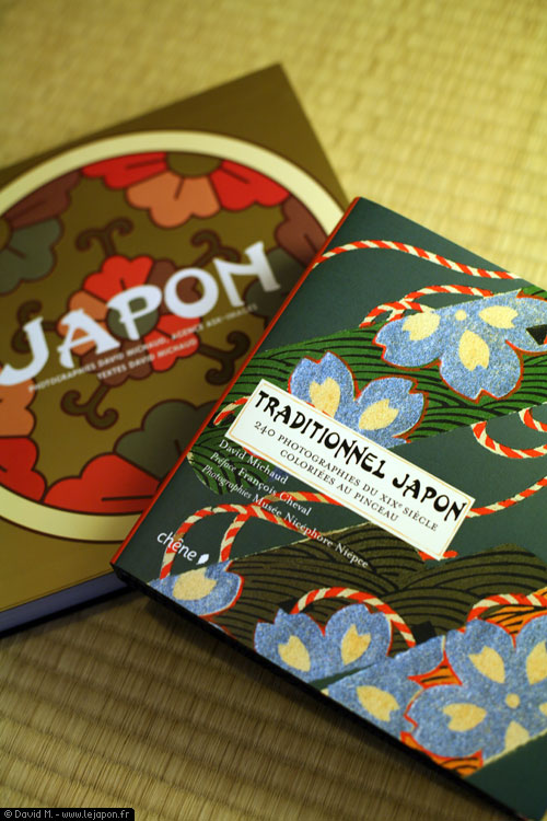 JAPON et Traditionnel Japon, 2 livres de David Michaud