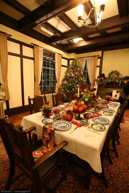Noël étranger à Yamate sur les hauteur de Yokohama au Japon