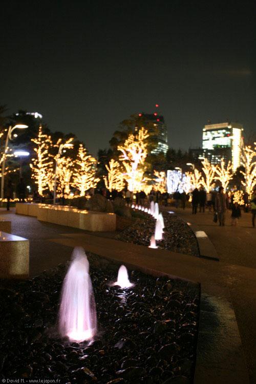 Roppongi Midtown illuminations
