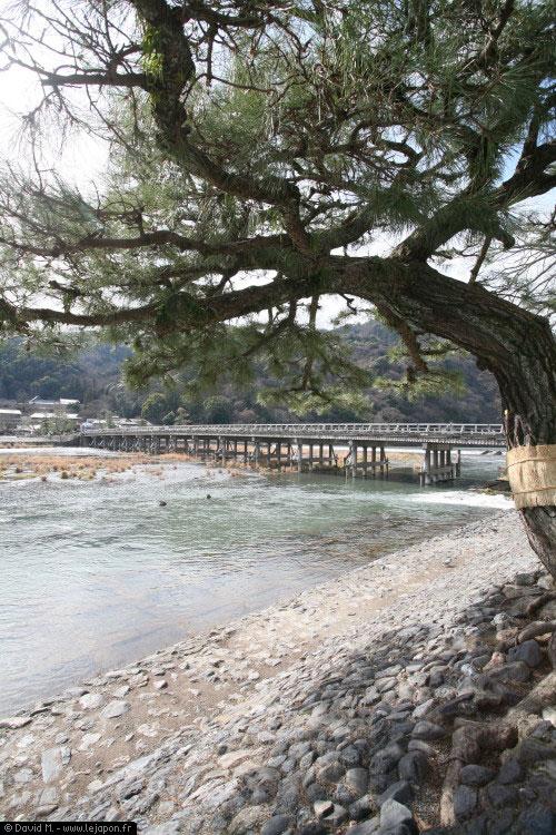 Pont Togetsu-kyo à Arashiyama - Kyoto