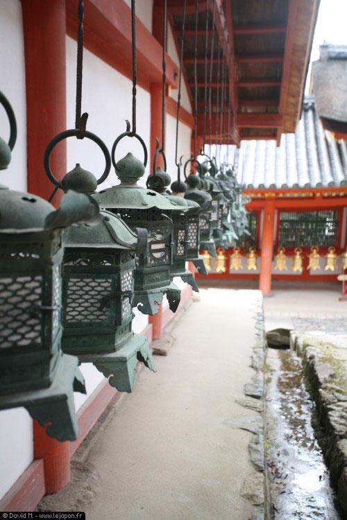 Sanctuaire Kasuga Taisha à Nara et ses milliers de lampions