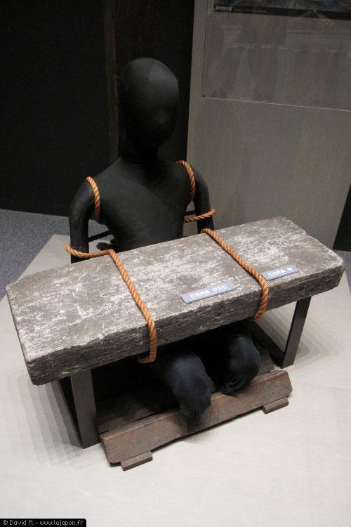 Torture à la japonaise au musé de la criminologie de l'université de Meiji