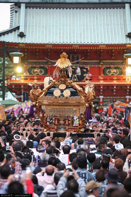 Festival Matsuri de Kanda Myojin à Tokyo