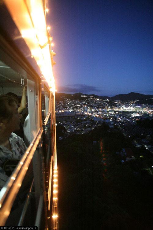 Vue sur Nagasaki du mont Inasa