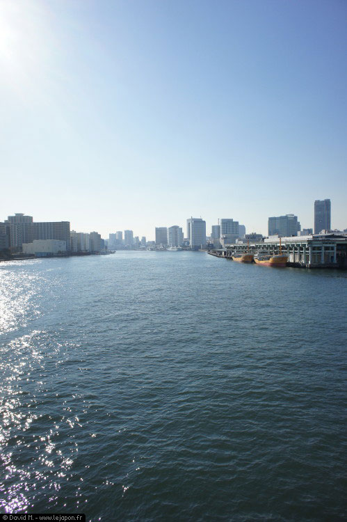 Balade à vélo le long de la Sumidagawa