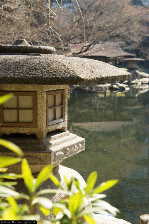 Jardin japonais Happo-en à Tokyo