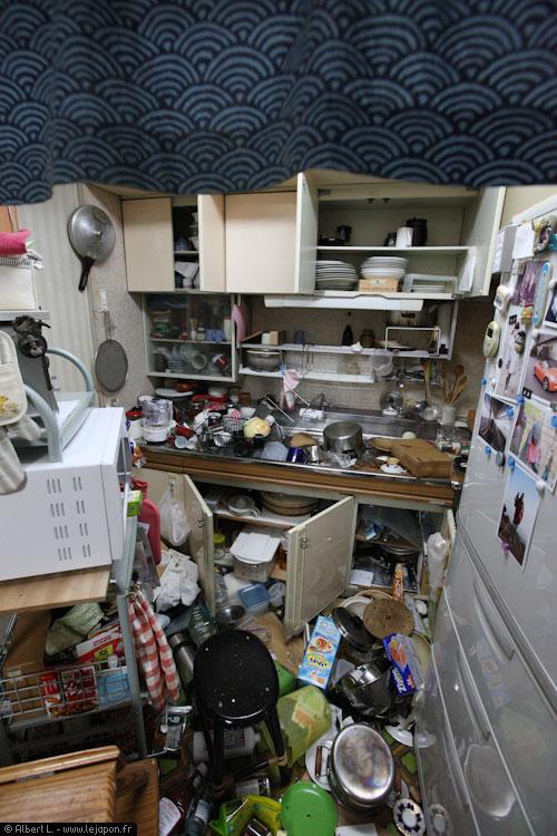 Intérieur d'un appartement à Urayasu à l'Est de Tokyo