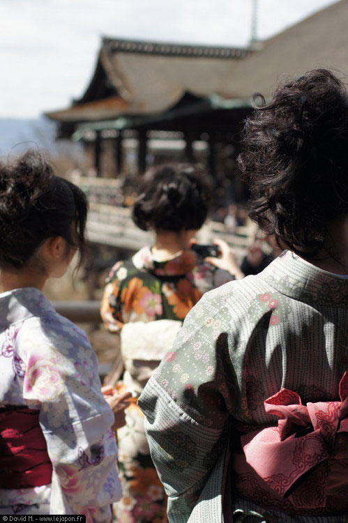 Kimono Kiyomizu Dera