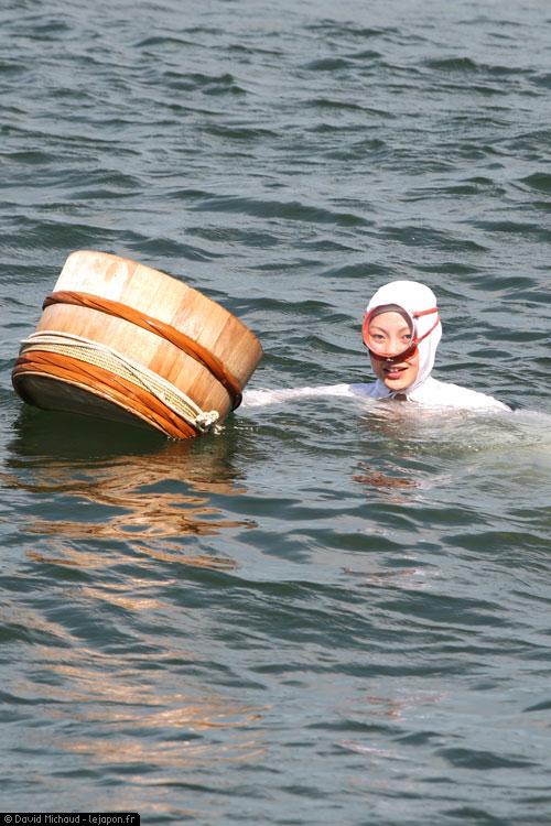 Plongeuse Ama du musée Mikimoto pêcheuse de perles