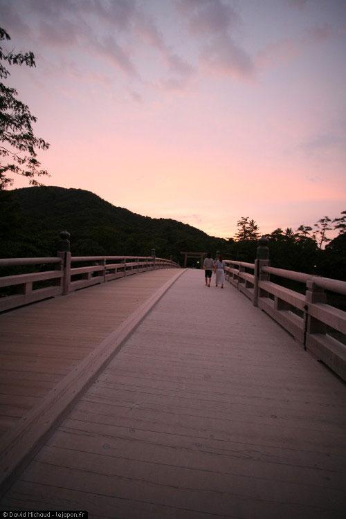 Pont de Ise Kotaijingu Naiku