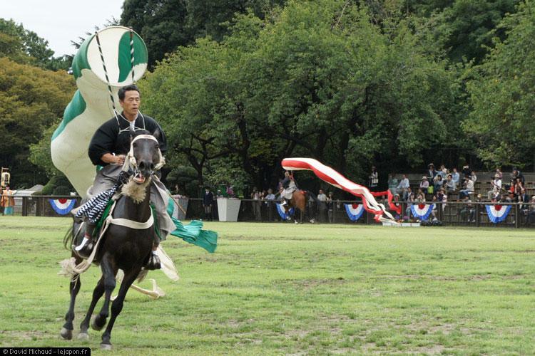 Horohike - cheval et koinobori