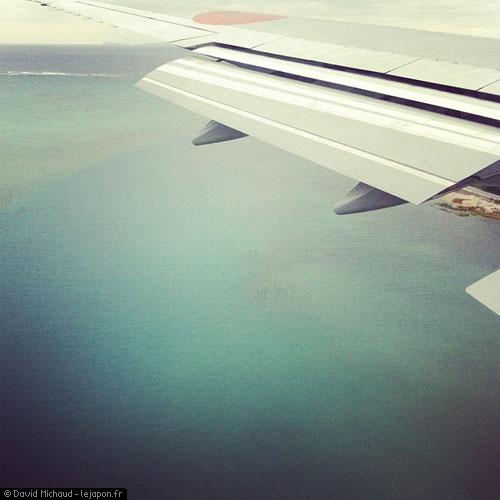 Atterrisage sur l'aéroport d'Okinawa Naha