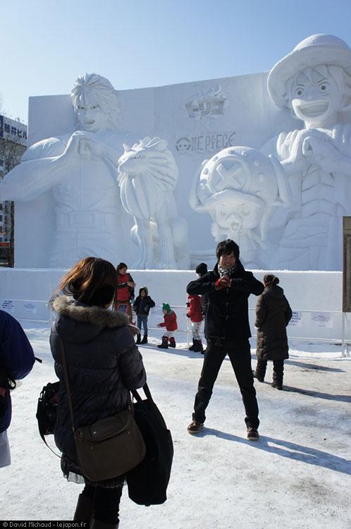 Sapporo Snow Festival - One Piece