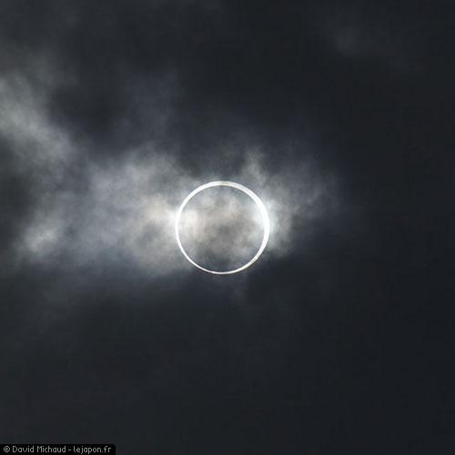Eclipse solaire totale au Japon - Tokyo 2012