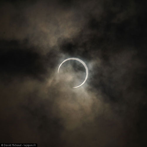 Eclipse solaire au Japon - Tokyo 2012