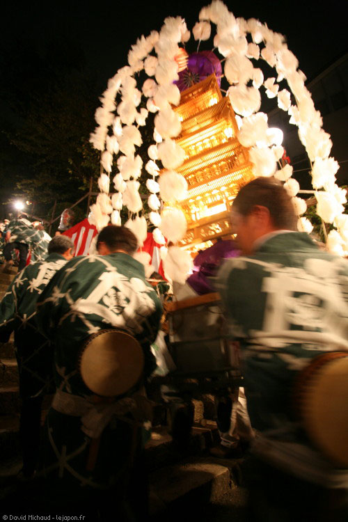 Festival Oeshiki - temple Ikegami Honmonji