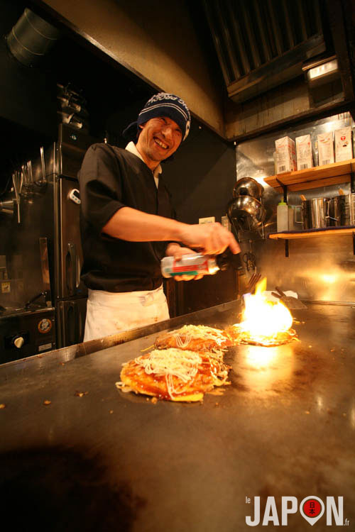 Les meilleurs Okonomiyaki d'Hiroshima