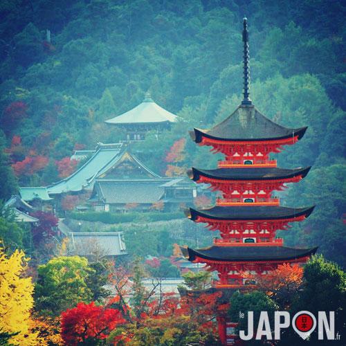 L'île de Miyajima et son sanctuaire Itsukushima