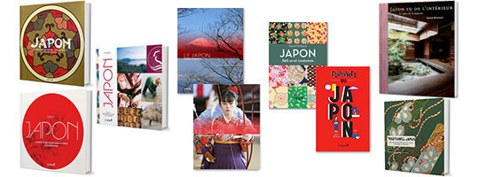 Couvertures Livres Japon
