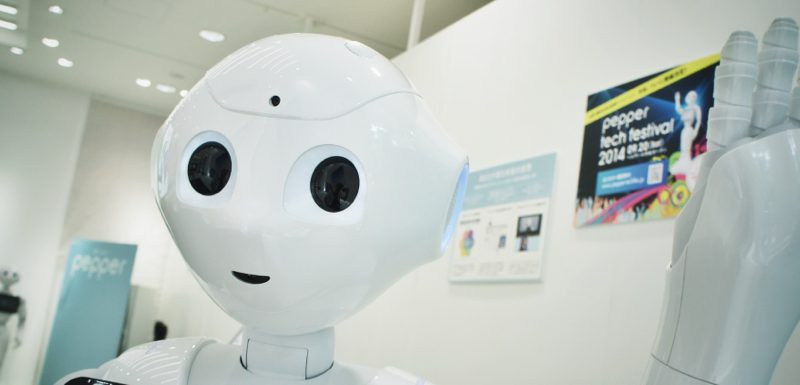 Pepper chez Softbank