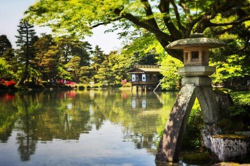 D couvrez la charmante ville de kanazawa la petite kyoto for Jardin kenrokuen