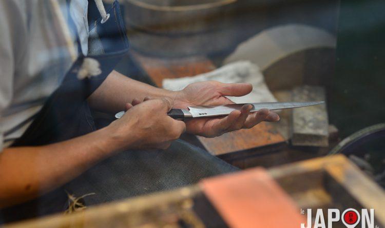 Couteau japonais éguisé par Kamata Seiichi