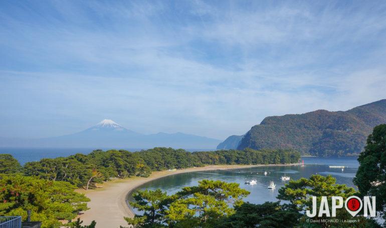Fuji vu de la péninsule d'Izu
