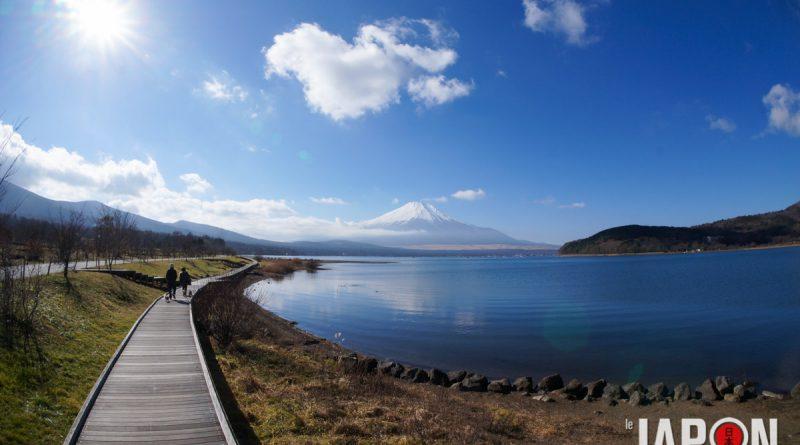 Lac Yamanakako et le Fuji san