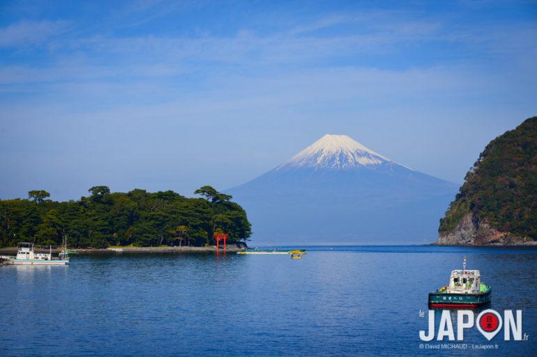 Portique rouge & Fuji