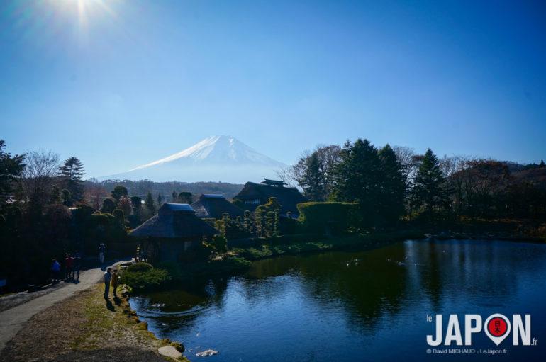 Village Oshino Hakkai et le Fuji san