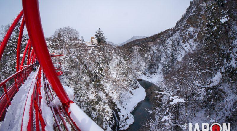 Bungy jump à Minakami Japon