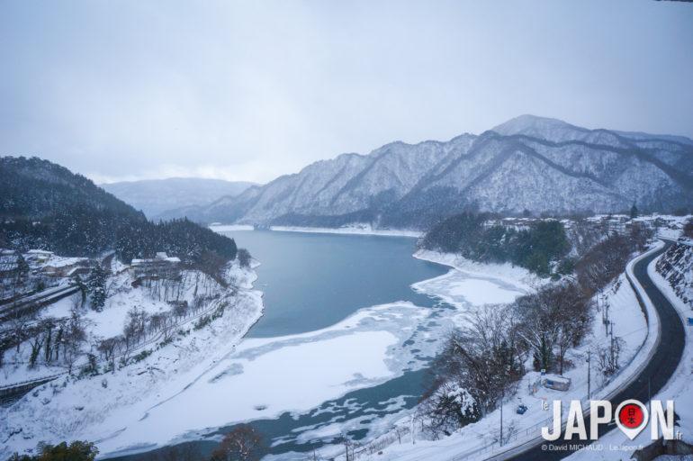 Lac Akaya à Minakami Japon