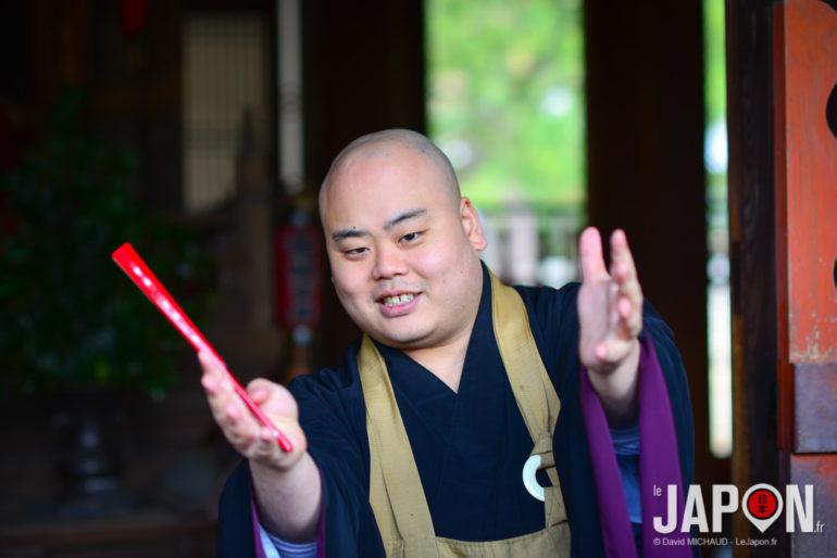 Moine du Manpuku-ji à Uji - Kyoto