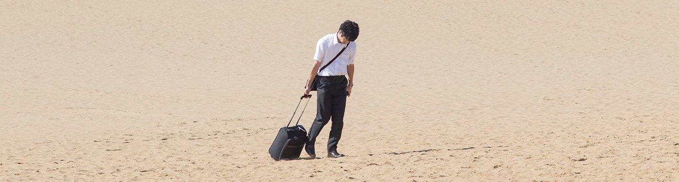 Dunes de Tottori Sakyu, la traversée du désert pour salaryman!