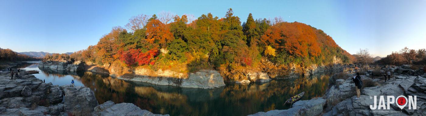Visite de Chichibu et Nagatoro, un peu de calme au nord ouest de Tokyo